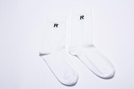 chaussette blanche peauaime